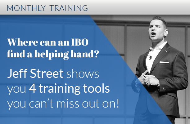 Jeff Street training ACN